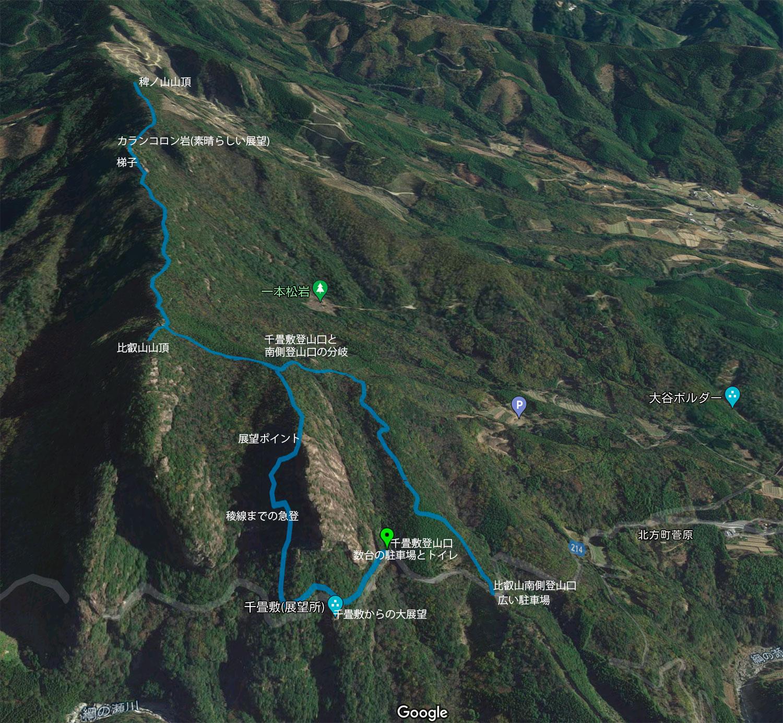 比叡山の登山コース