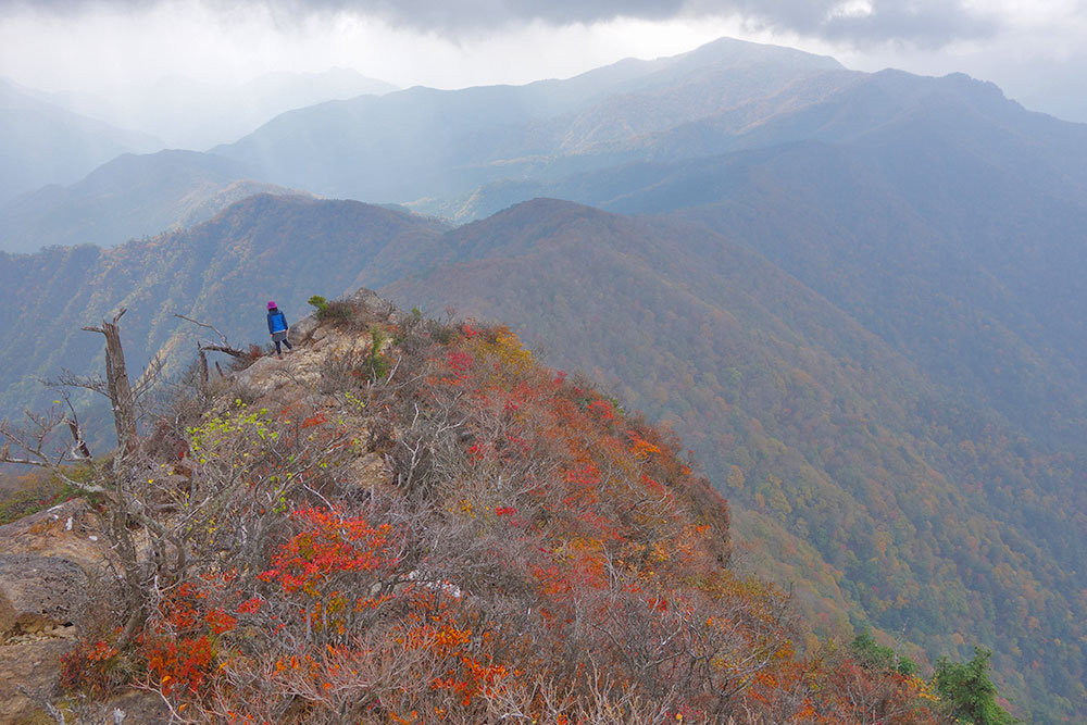 山頂からは素晴らしい展望が楽しめます