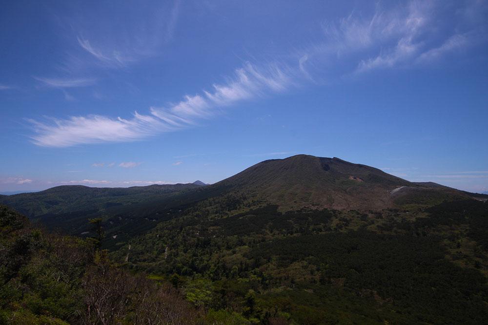 非常に美しい韓国岳の山容