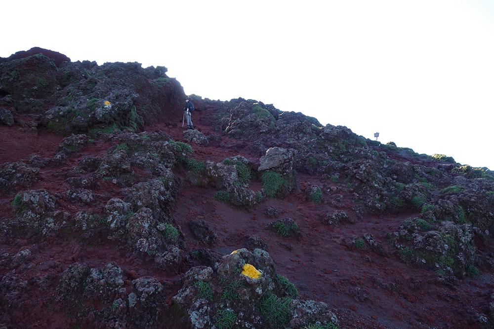 火山特有の景観で飽きることがない