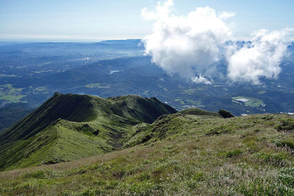 私はここの稜線を眺めるのがとても大好きです