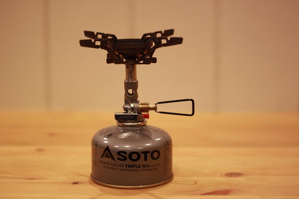 僕の使用しているSOTO製「ウインドマスター」
