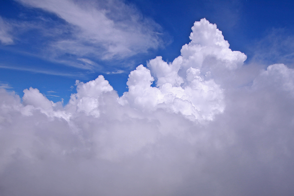 入道雲と言えば夏