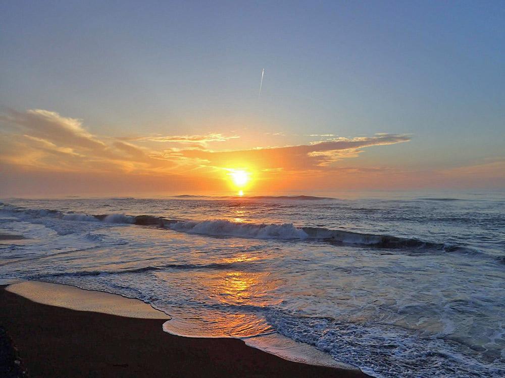 非常に美しい宮崎の朝