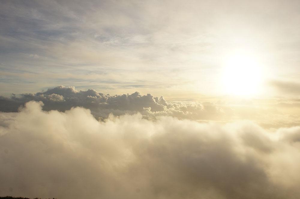 夏の雲がとても美しい風景