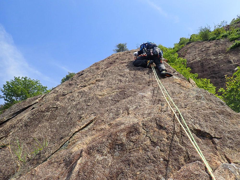 岩壁を登るのも、のんびりハイキングをするのも自分が楽しいのが一番