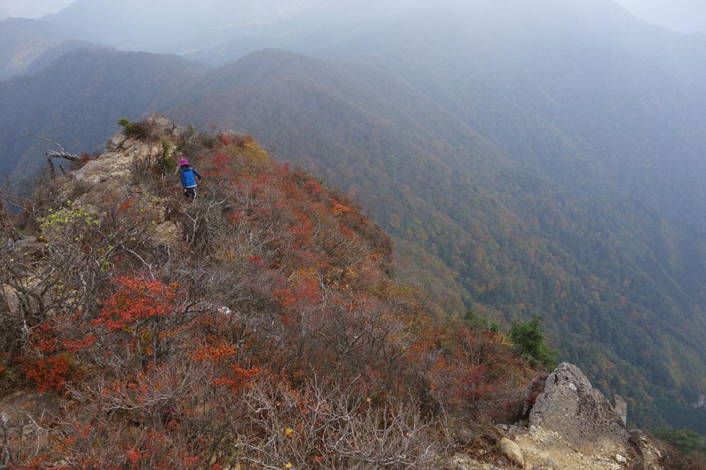 快適でとても美しい景色を楽しめる秋のハイキングは最高です