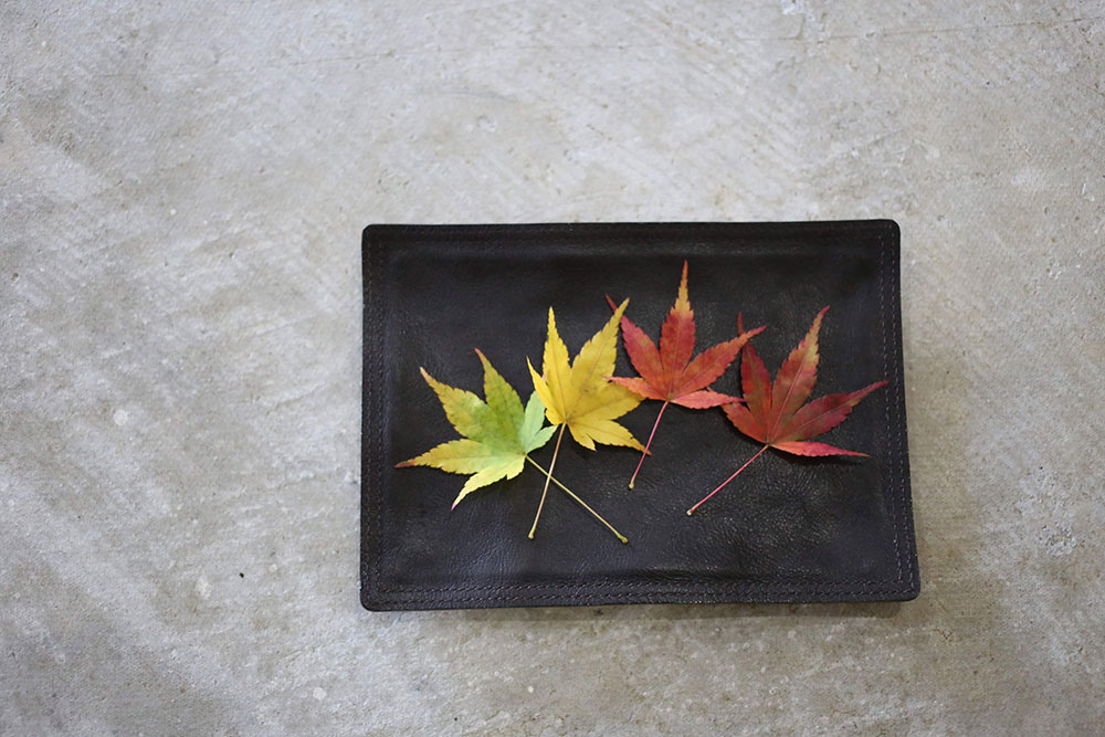 祖母山土産の紅葉