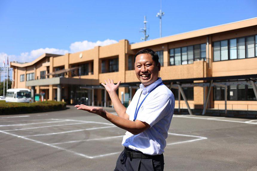 国富町役場の伊藤さんでした