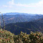春のような陽気の中の石堂山ハイキング
