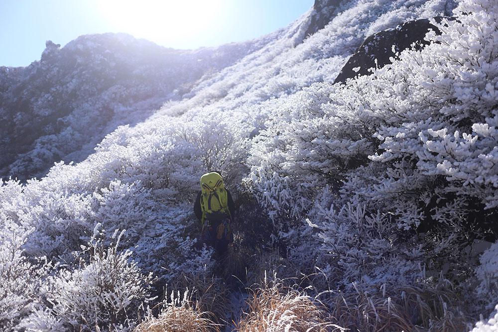 冬のハイキングも九州では気軽に楽しめる場所もたくさん