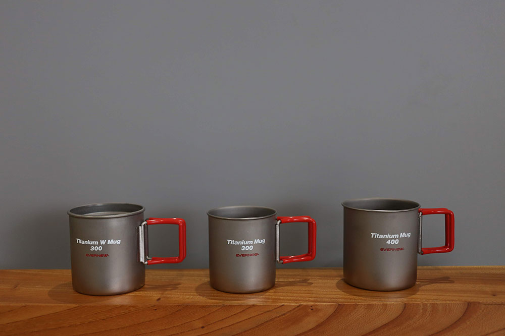 EVERNEW製 チタンマグカップ