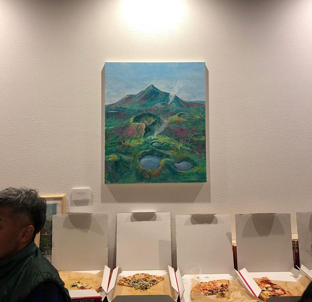 霧島の絵画とピッツァと山の話と
