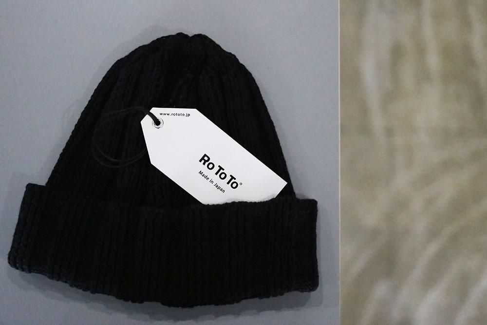RoToTo LINEN&COTTON KNIT CAP