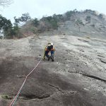 【UsersReport】鉾岳クライミングと懸垂下降と道具のレビュー