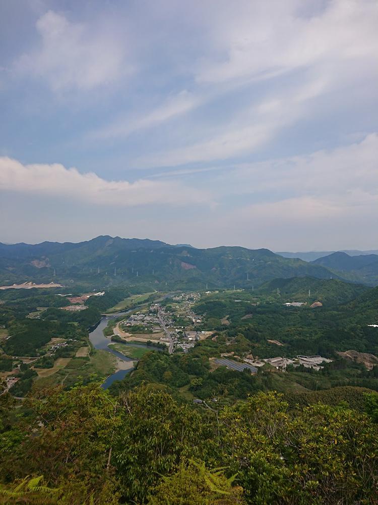 美しい風景を堪能できる里山