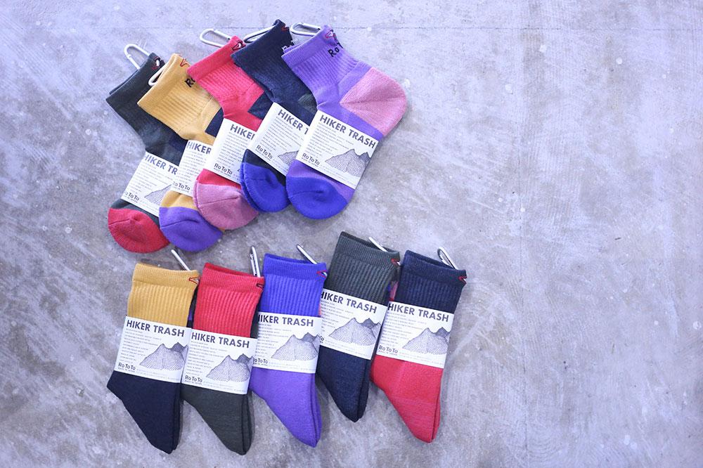 RoToTo for Hiking Socks