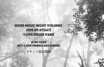 MORE MUSIC NIGHT Vol.2