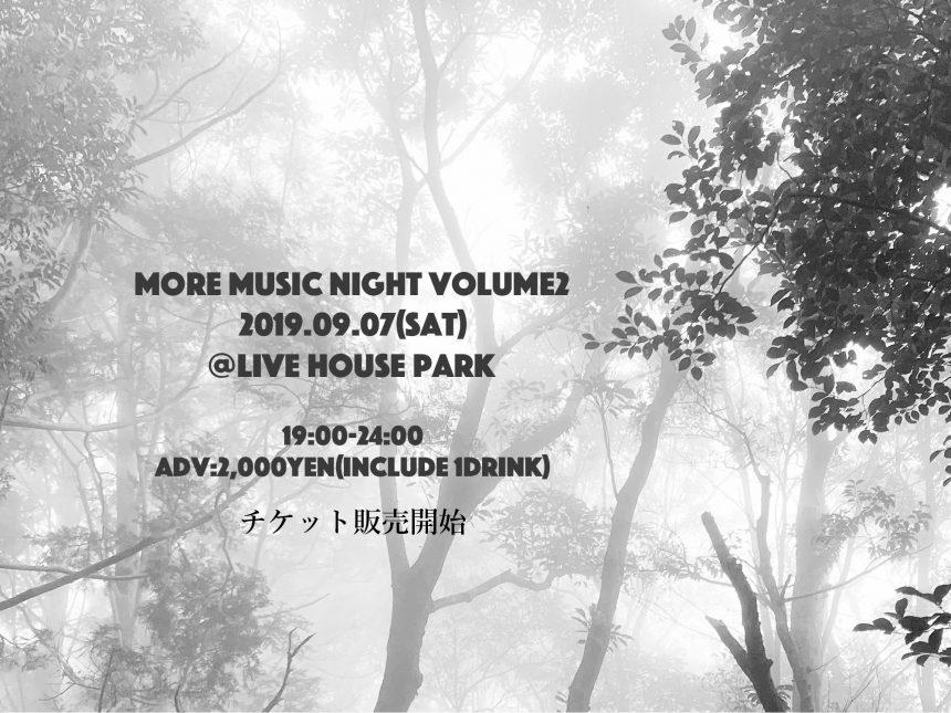 MORE MUSIC NIGHT Vol.2