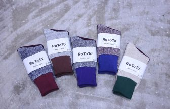 "RoToTo Double Face Socks ""Silk & Cotton"""