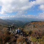 紅葉の向坂山・白岩山