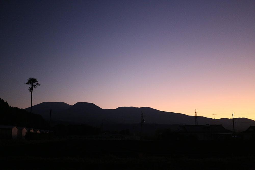 HANNAHさんから眺める霧島連山
