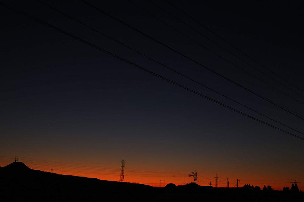 素敵な夕焼けが眺められる場所です
