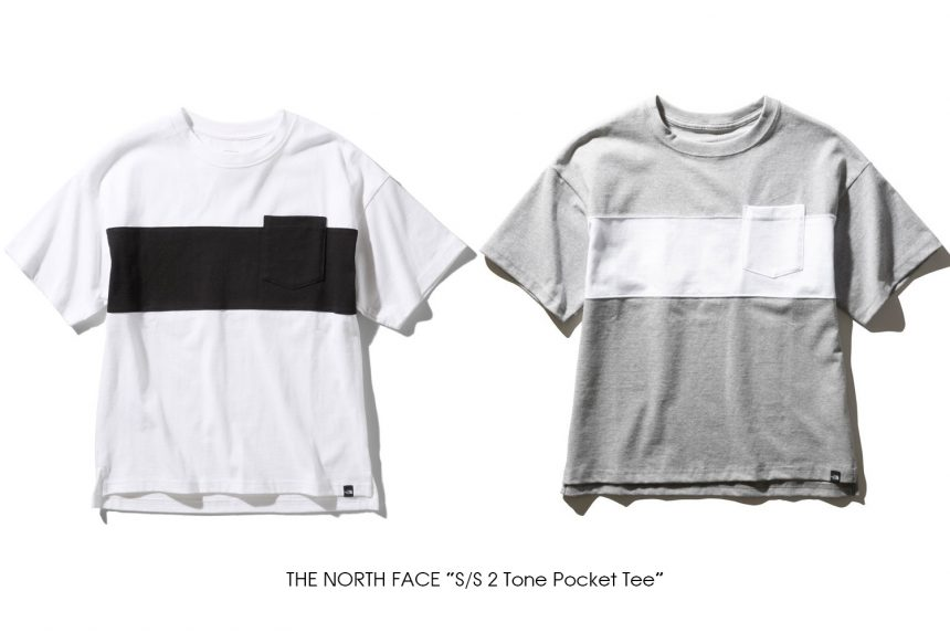 """THE NORTH FACE """"S/S 2 Tone Pocket Tee"""""""