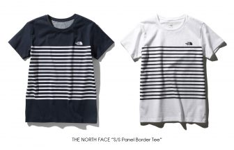 "THE NORTH FACE ""S/S Panel Border Tee"""