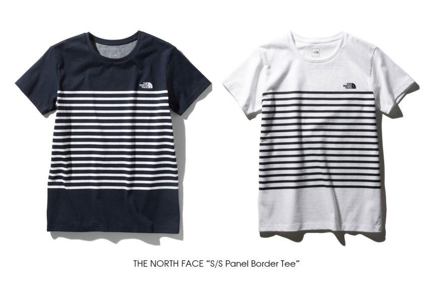 """THE NORTH FACE """"S/S Panel Border Tee"""""""
