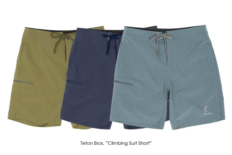 "Teton Bros. ""Climbing Surf Short"""