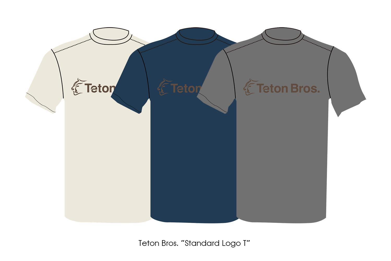 "Teton Bros. ""Standard Logo T"""