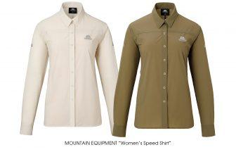 "MOUNTAIN EQUIPMENT ""Women's Speed Shirt"""