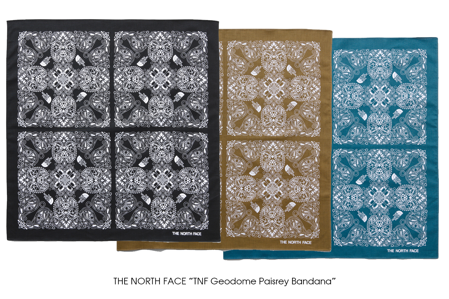 "THE NORTH FACE ""TNF Geodome Paisrey Bandana"""