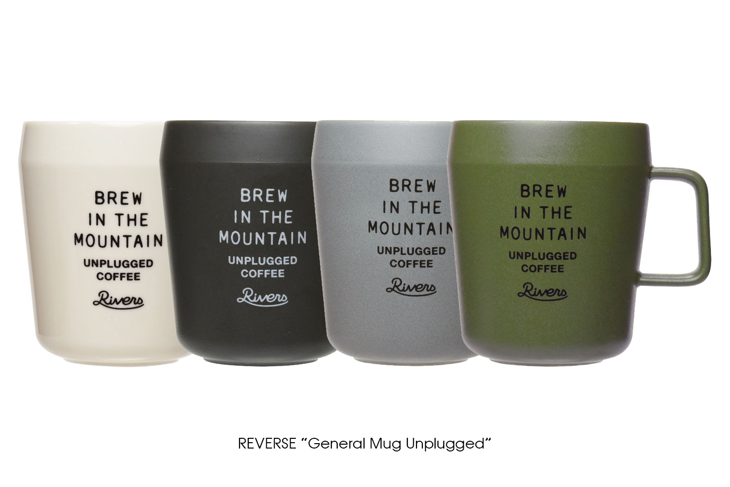 "RIVERSE ""General Mug Unplugged"""
