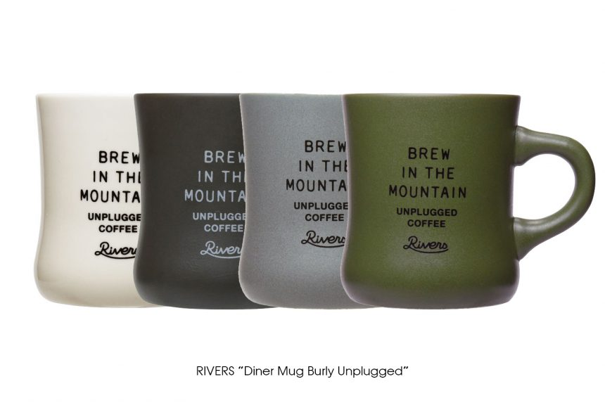 "RIVERS ""Diner Mug Burly Unplugged"""