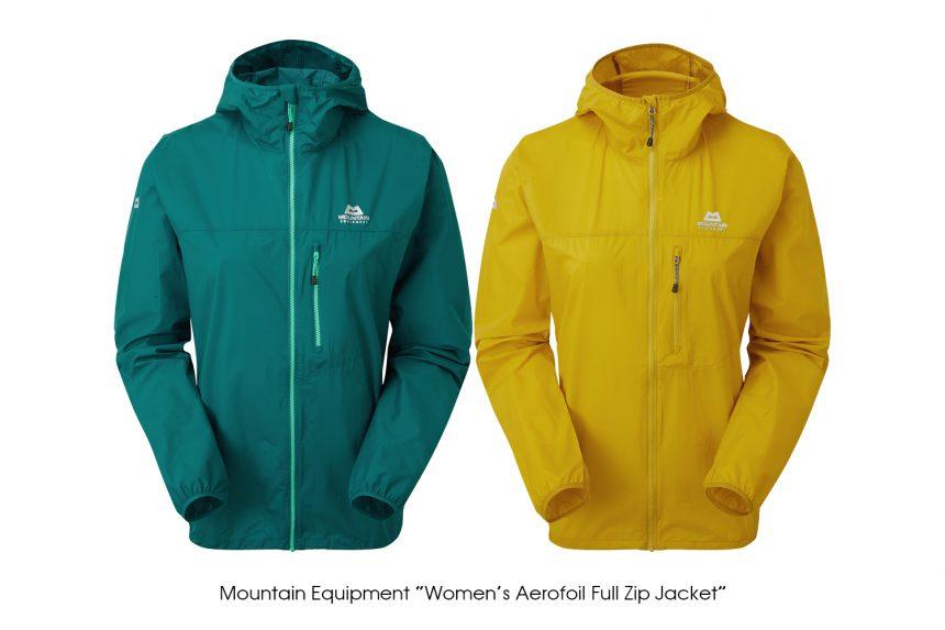 "MOUNTAIN EQUIPMENT ""Womens Aerofoil Full Zip Jacket"""