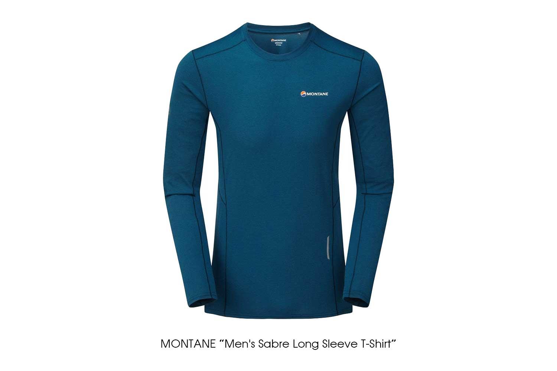 "MONTANE ""Men's Sabre Long Sleeve T-Shirt"""