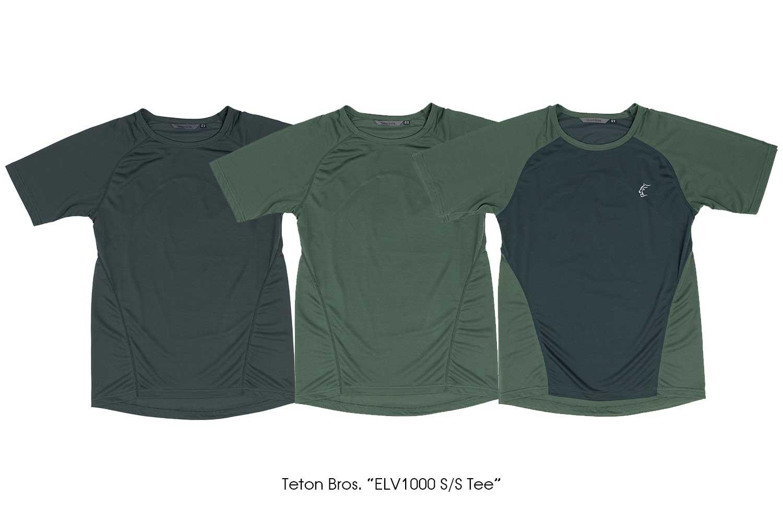 """Teton Bros. """"ELV1000 S/S Tee"""""""