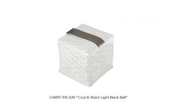 "CARRY THE SUN ""Medium Cool & Warm Light Black Belt"""
