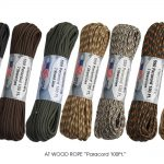 "AT WOOD ROPE ""Paracord 100Ft."""