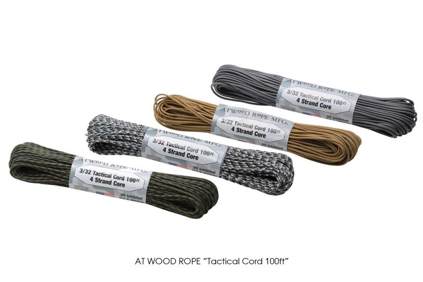 """AT WOOD ROPE """"Tactical Cord 100ft"""""""