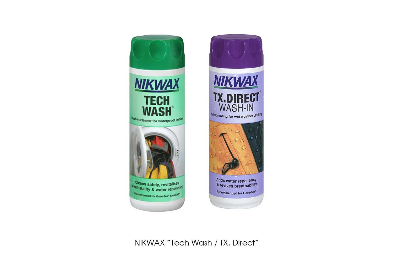 """NIKWAX """"Tech Wash / TX. Direct"""""""