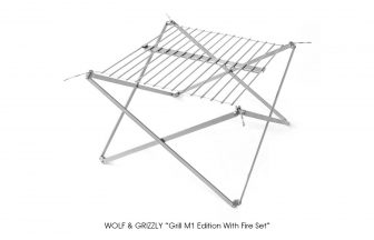 "WOLF & GRIZZLY ""Grill M1 Edition With Fire Set"""