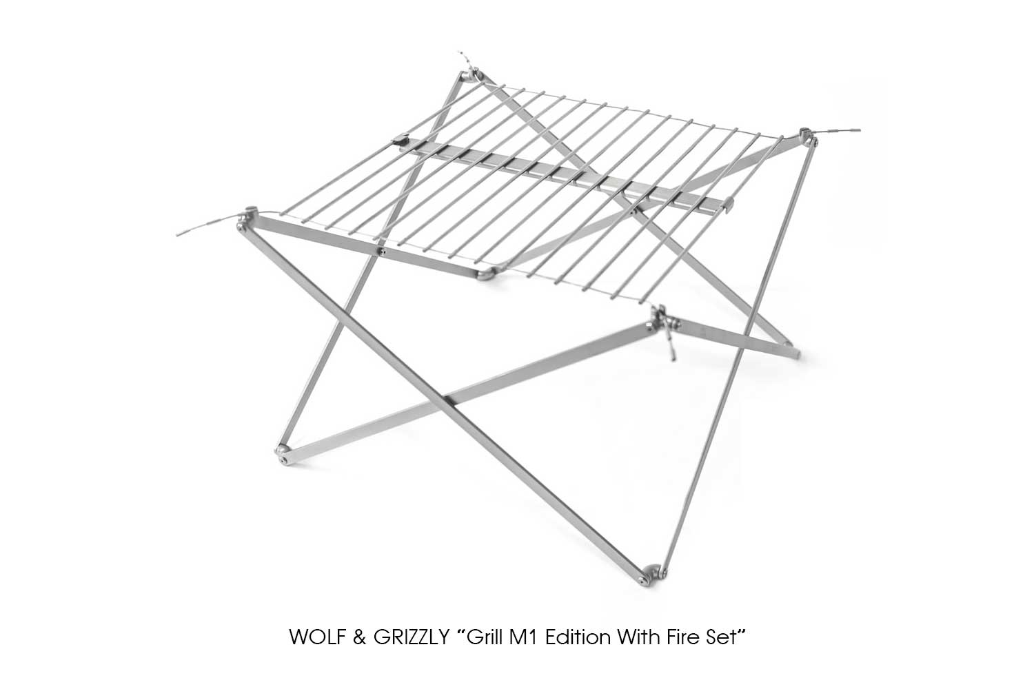 """WOLF & GRIZZLY """"Grill M1 Edition With Fire Set"""""""