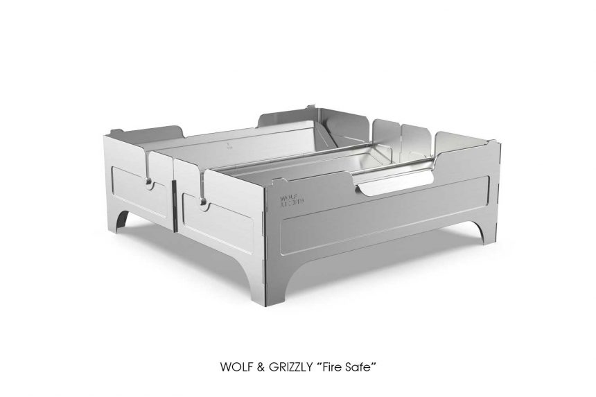 """WOLF & GRIZZLY """"Fire Safe"""""""