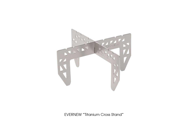 "EVERNEW ""Titanium Cross Stand"""