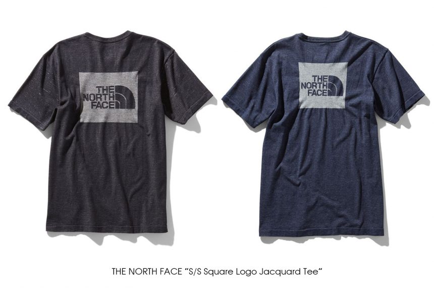 "THE NORTH FACE ""S/S Square Logo Jacquard Tee"""