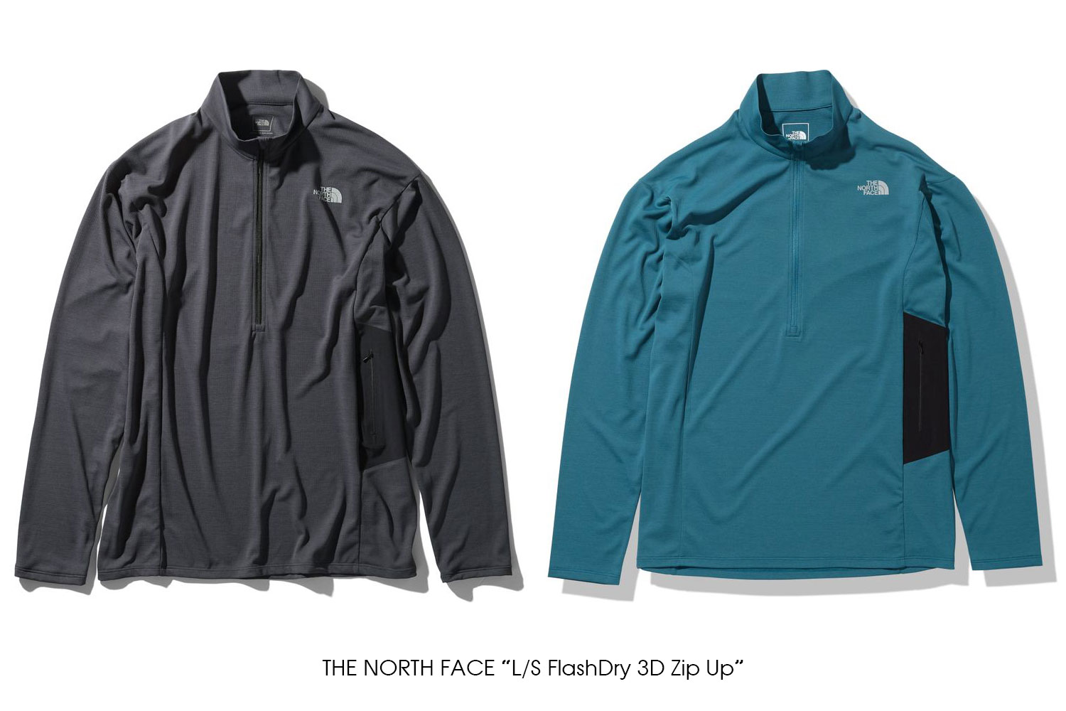 "THE NORTH FACE ""L/S FlashDry 3D Zip Up"""