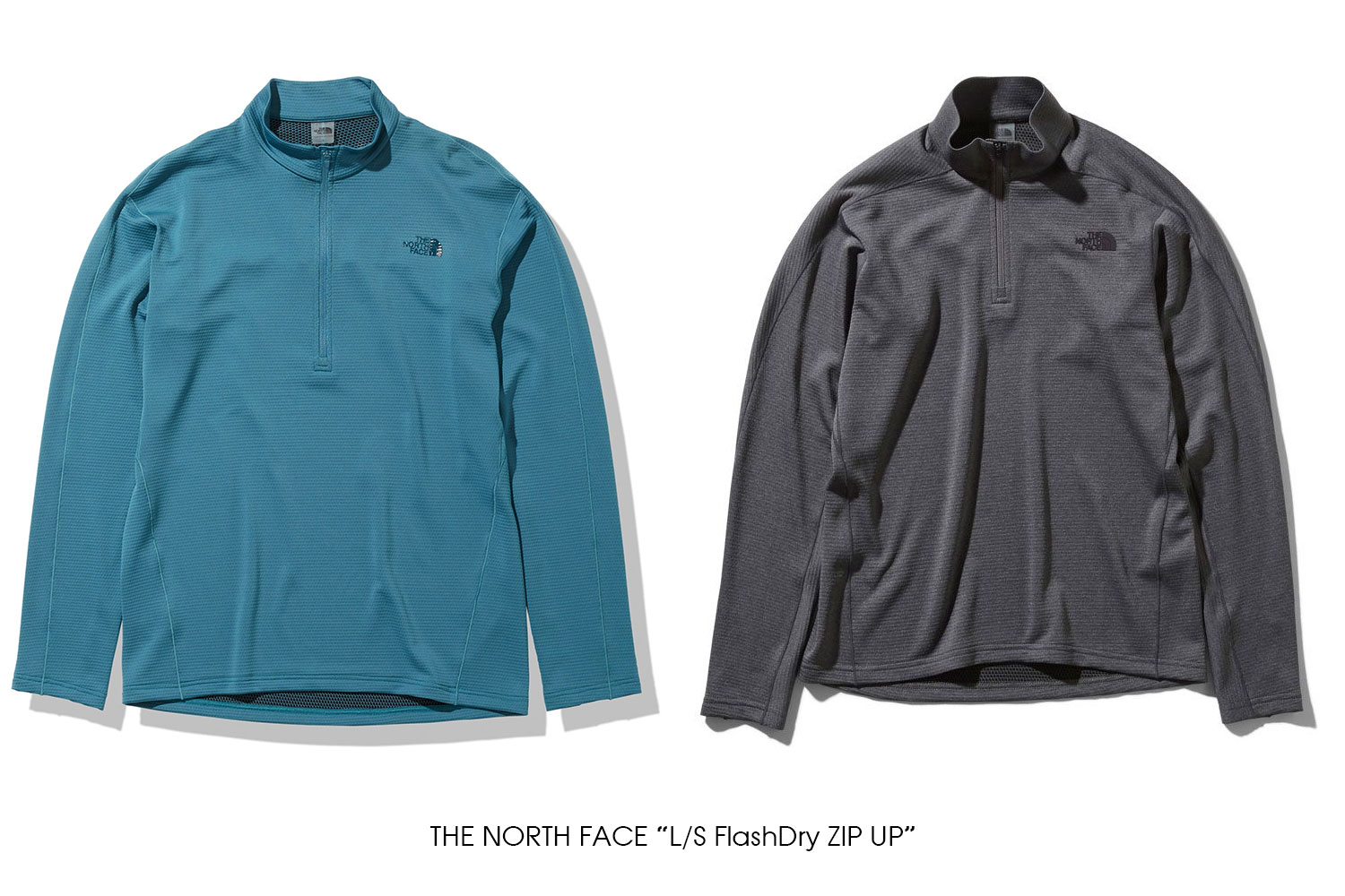 """THE NORTH FACE """"L/S FlashDry ZIP UP"""""""